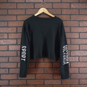 VICTORIA SECRET SPORT Crop Top Sweatshirt